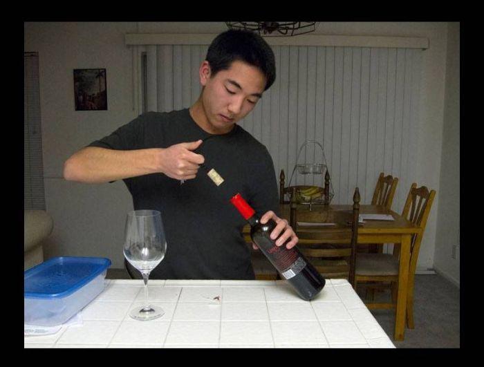 Подвела пробка от бутылки вина (16 фото)