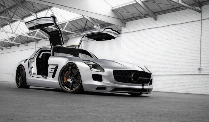 Mercedes-Benz SLS AMG от тюнеров из ателье Wheelsandmore (6 фото)
