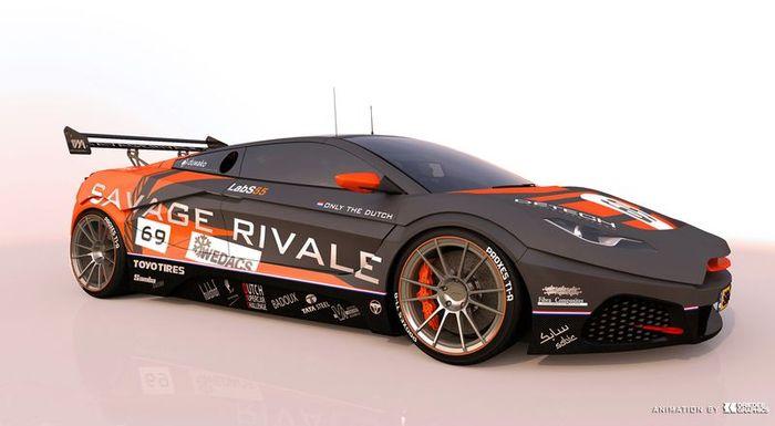 Первые фото и характеристики супер-кара Savage Rivale GTR (4 фото)