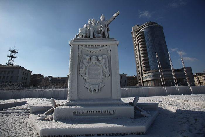 Новороссийск поле ледяного шторма (73 фото)