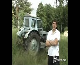 Обзор трактора в стиле TopGear