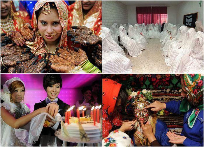 Как женятся во всем мире (21 фото)