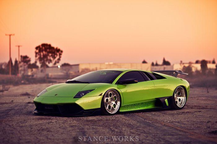 Lamborghini Murcielago от ателье LB Performance (4 фото+видео)