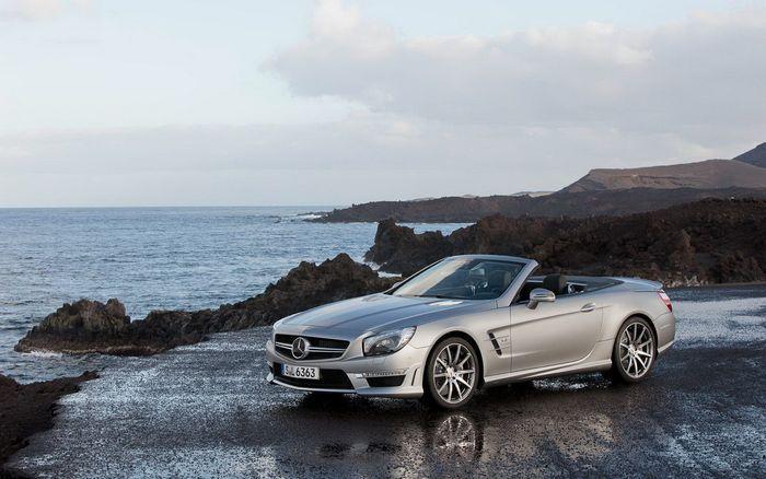 Официальная премьера Mercedes SL 2012 R271 (11 фото)