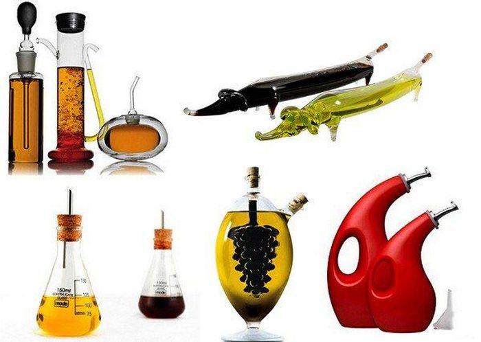 Обзор оригинальных емкостей для масла и уксуса (20 фото)