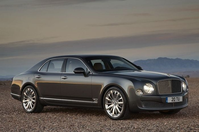 Bentley Mulsanne получит спецверсию Mulliner (20 фото)