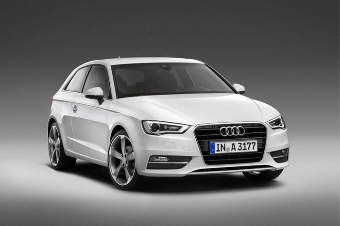 Компания Audi представит новую модель A3 (14 фото)