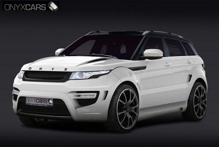 Range Rover Evoque от ателье Onyx Cars (2 фото)