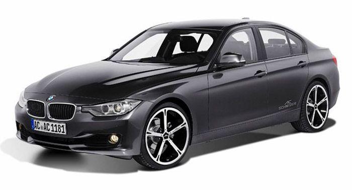 Ателье AC Schnitzer подготовило тюнинг-пакет для BMW 3  в кузове F30 (4 фото)