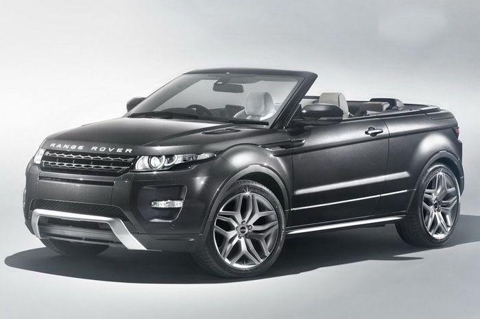 Range Rover Evoque может оказаться без крыши (5 фото)