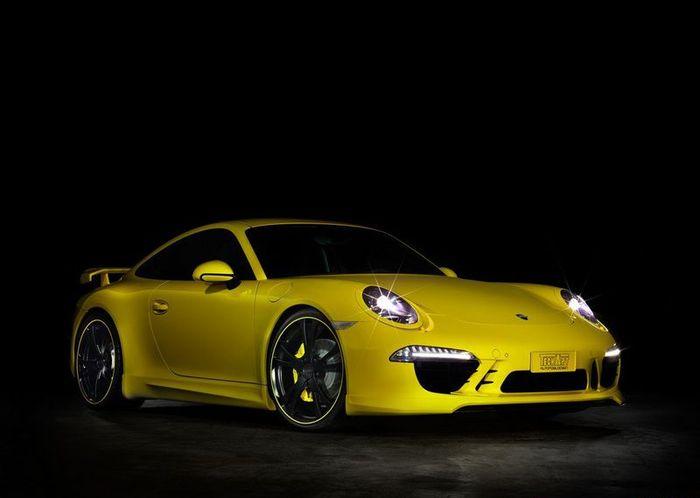 Porsche 911 (991) затюнинговали в ателье TechArt (8 фото)