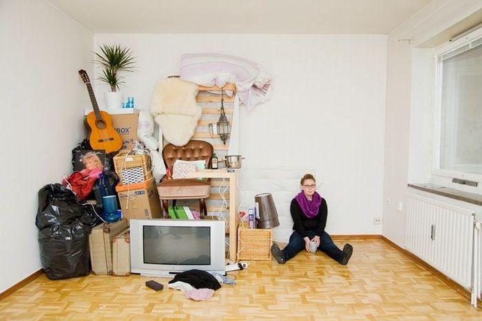 Хлам в квартире хипстеров (8 фото)