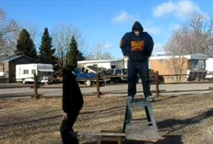 Видео подборка неудачников февраля 2012. (видео)
