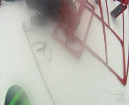 Проишествие со сноубордистом