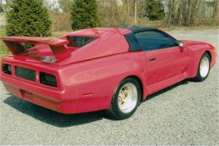 Ужасная реплика на Ferrari F40-F50 1985 г.в. (8 фото)