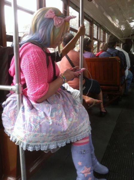 Новые фото девушка, косплей, наряд, разноцветная