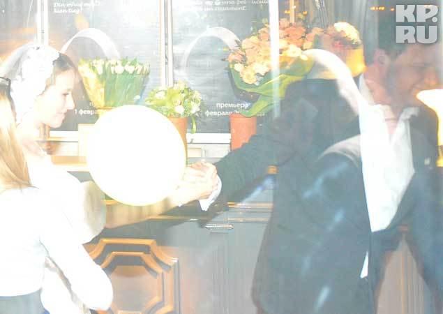 Свадебные фото собчак и виторгана