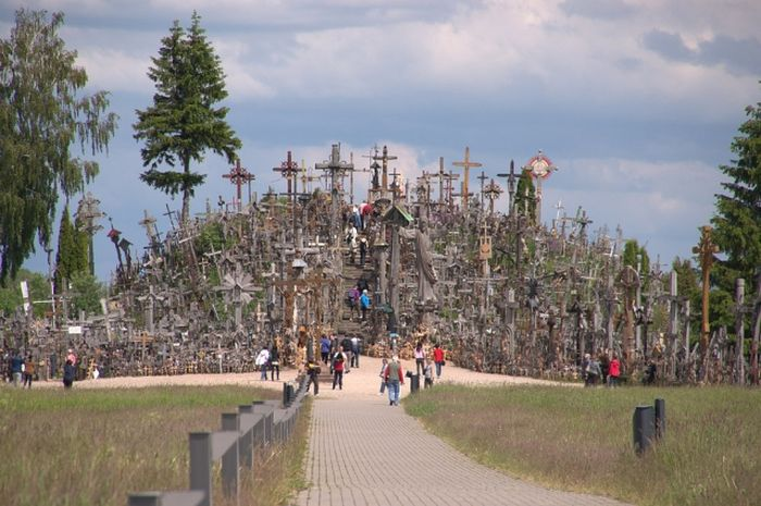 гора крестов, религия, крест
