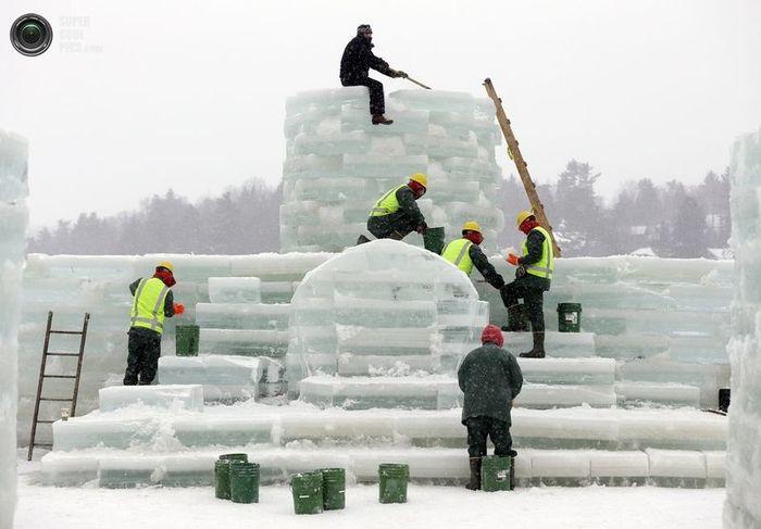 лед, дворец, карнавал, фестиваль