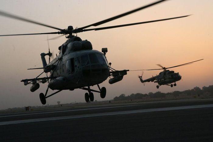 вертолет, ми-17