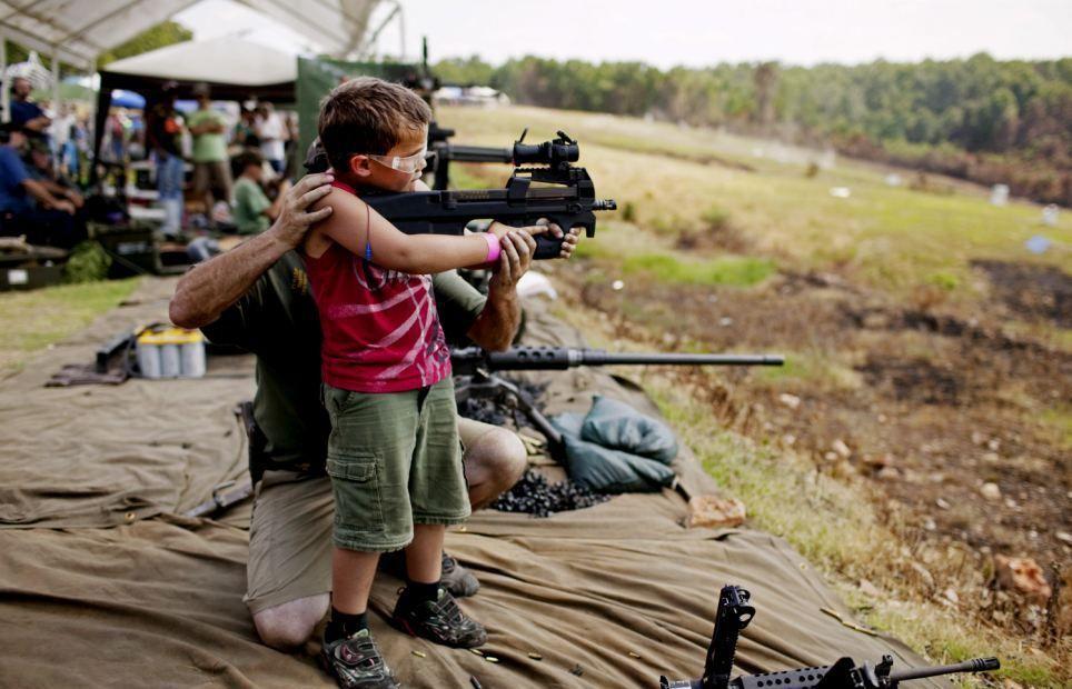 Прикольные картинки на оружие