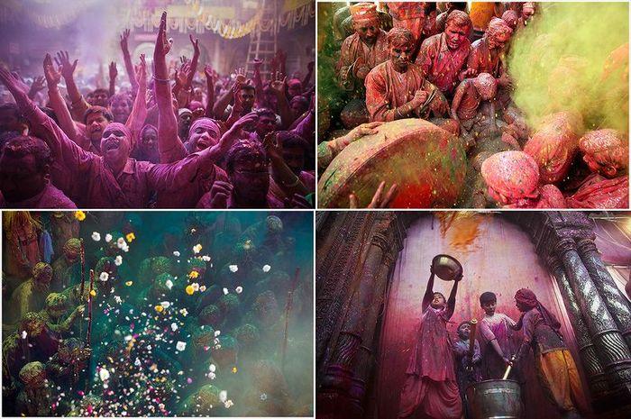 праздник, холи, индия, праздник весны
