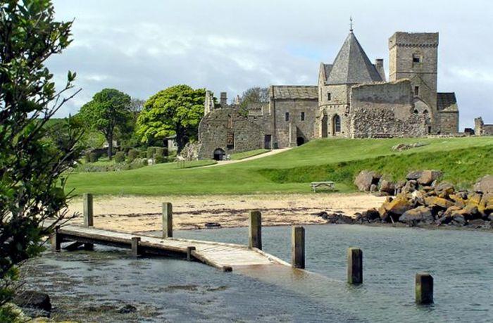 работа, остров, шотландия, замок