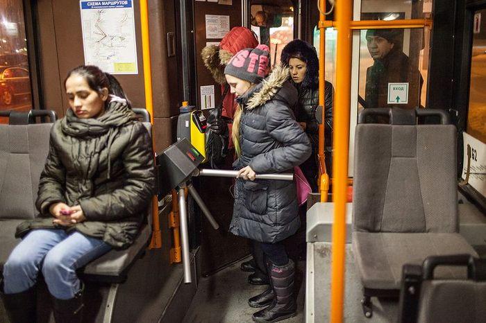 турникет, транспорт, проездной, автобус