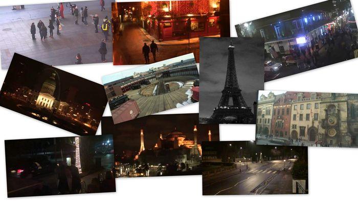 веб-камера, реальное время, прага, франция, париж, лондон, майами, дублин
