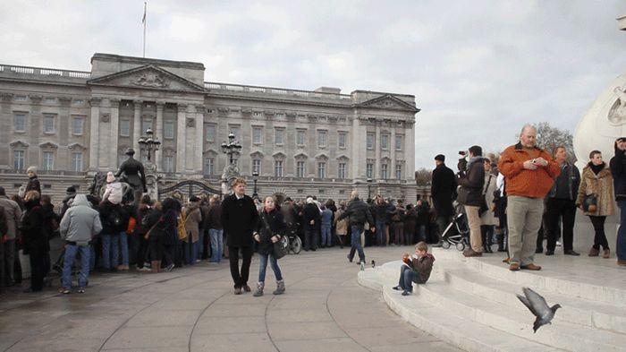 живые фотографии, в движении, лондон, толпа