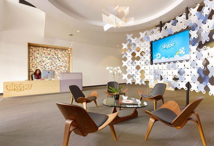 skype, офис, мебель