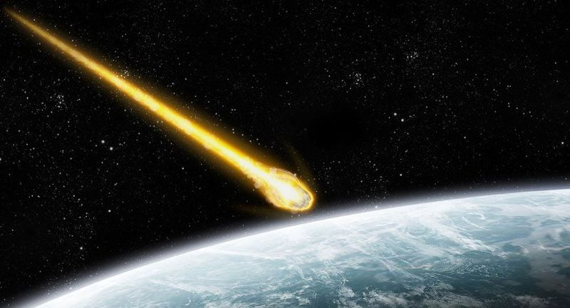 : космос, кратеры, познавательно, метеорит,