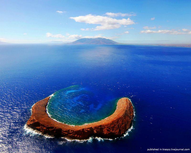 красота, природа,кратер, вулкан