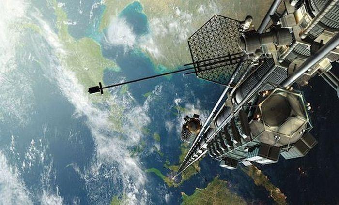 космос, лифт