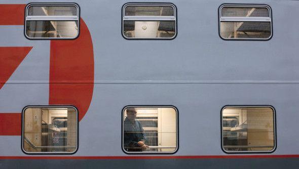 поезд, вагон, ржд
