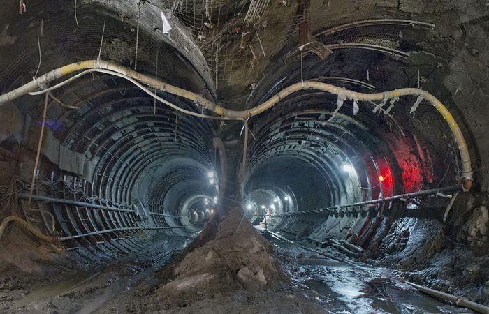манхэттен, метро, нью-йорк, строительство, тоннель
