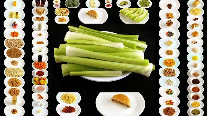 калории, мало, шоколад, овощи, чипсы