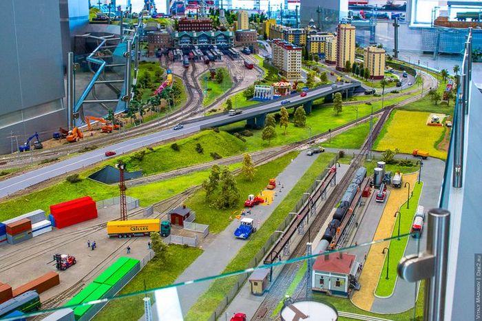 ржд, выставка, железная дорога, поезд, макет