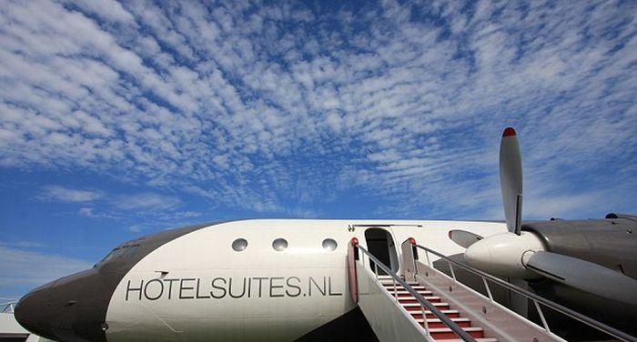 отель, самолет, гостиница