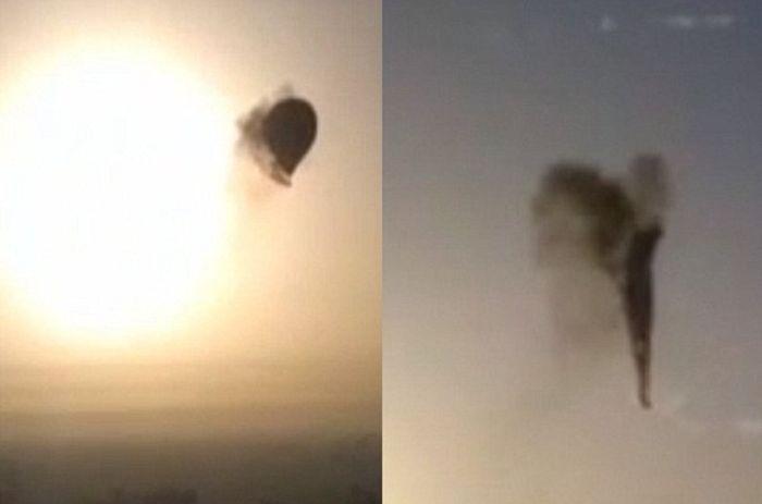 воздушный шар, трагедия, смерть