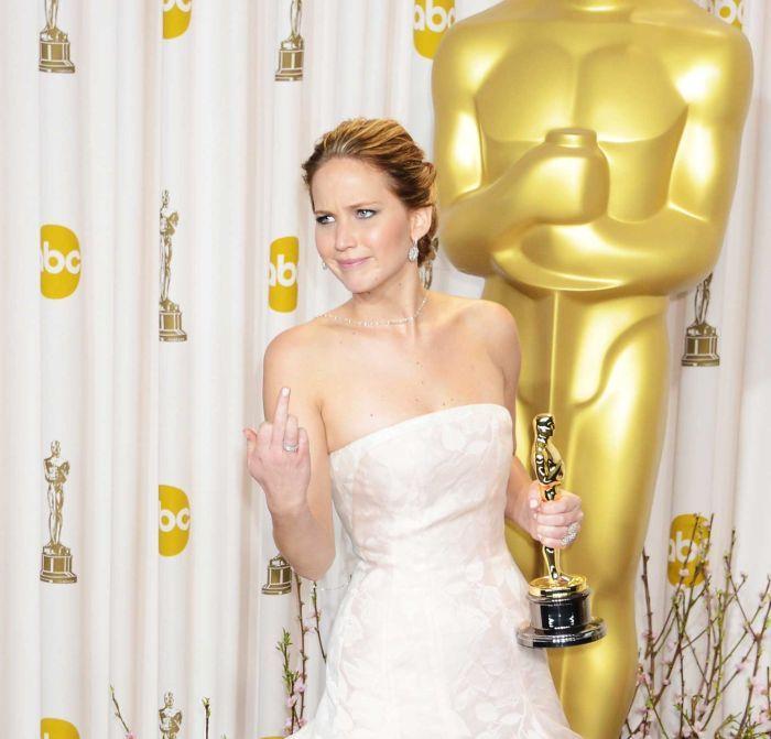 Фотоприкол онлайн актриса, молодая, оскар, церемония