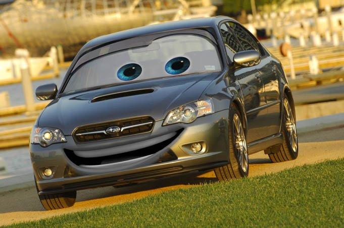 машины с глазами окружающие друзья только