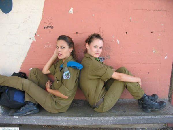 Девушки армии Израиля (65 фото)