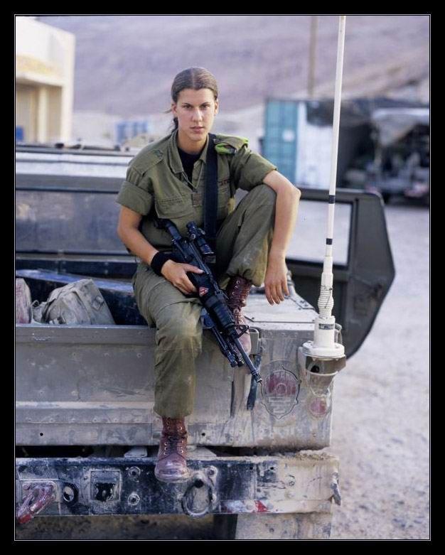 Девушки армии Израиля (65 фото): http://fishki.net/15565-devushki-armii-izrailja-65-foto.html