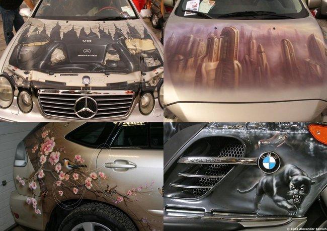 aerografia en autos