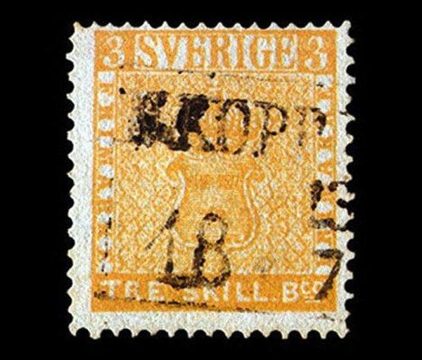 Согласно информации из Википедии, самая редкая и дорогая почтовая марка в мире -