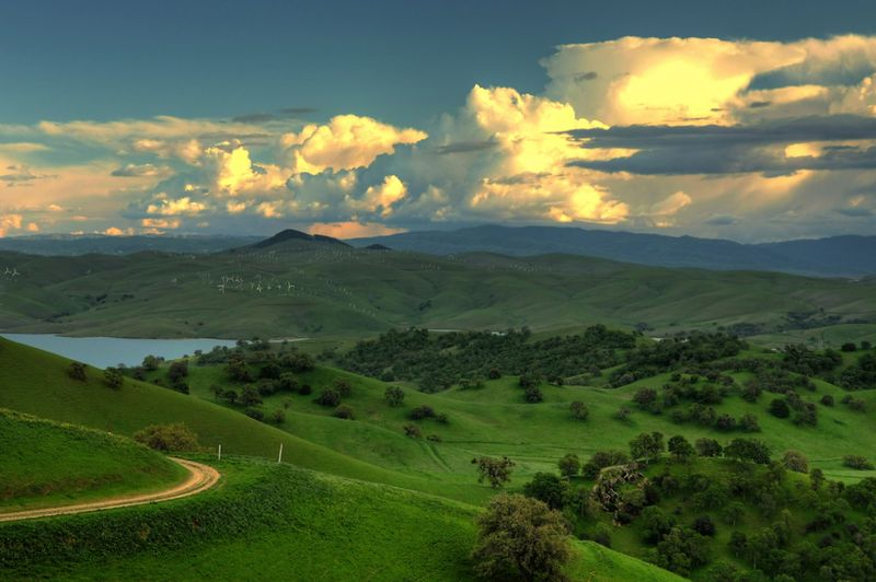 Californiya Manzara Fotograflari.