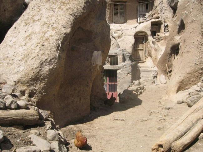 Уникальная деревня Кандован в Иране (18 фото + текст)