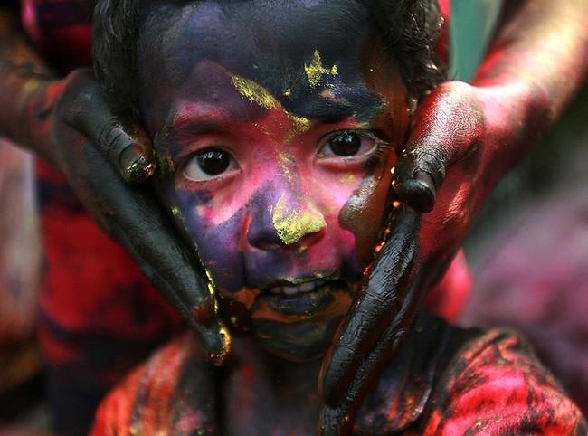 Праздник красок (6 фото)