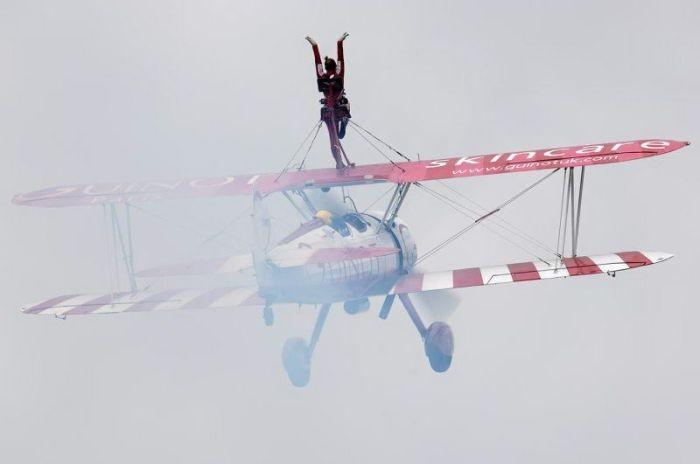 Трюки в воздухе (22 фото)